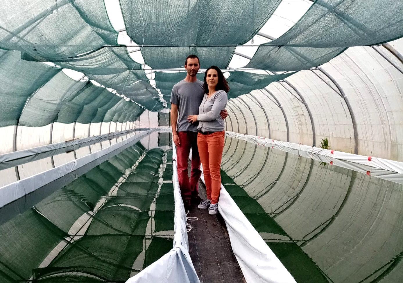 Visite de la ferme Spiruline des Olonnes