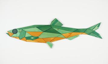 """Fish #2 - green"""