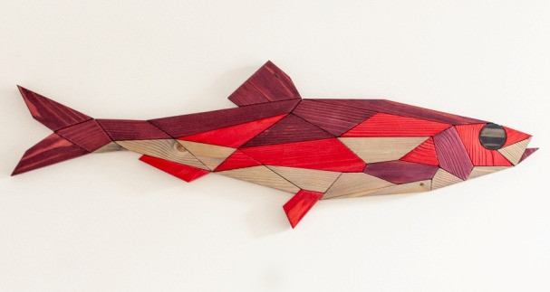 """""""Fish #1 - red"""""""