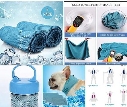 Multi-Purpose Cooling Towel, 2 pcs
