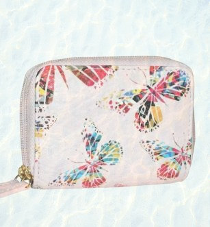 RFID Butterfly Design Wallet