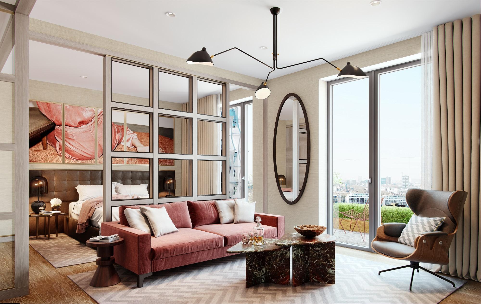 Suite - Living Bedroom