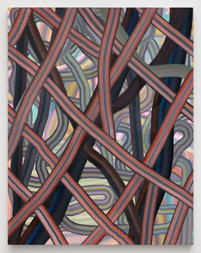 Polyfusion, 2020, oil on linen, 64x50 in.