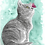 Thumbnail: Cute Cat and Butterfly Original
