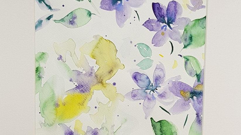 Loose floral 6