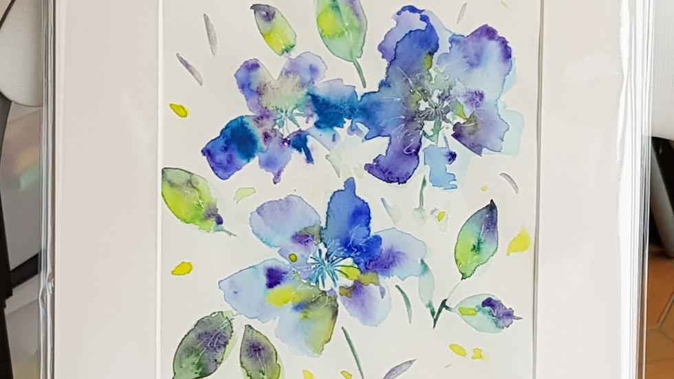 Loose floral 1