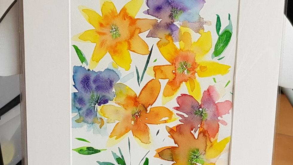 Loose floral 8