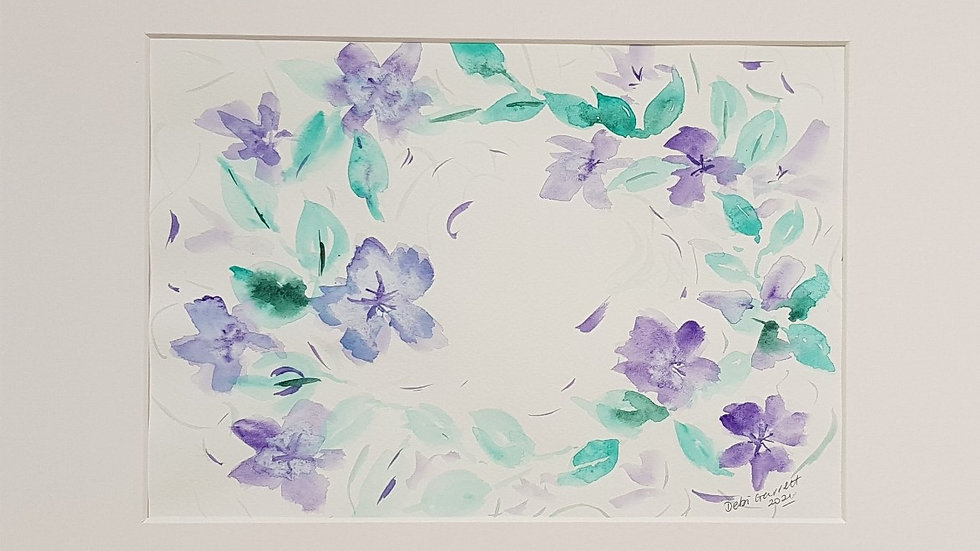 Loose floral 12