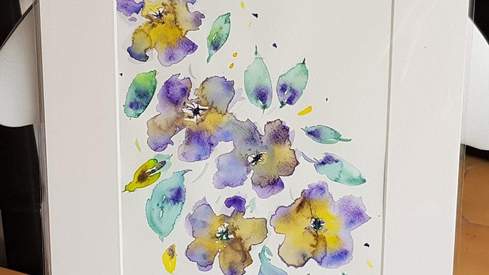 Loose floral 9