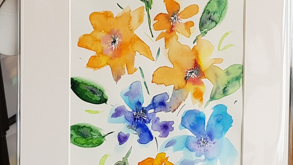 Loose floral 3