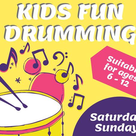 Fun Drumming for Kids