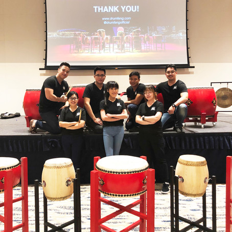 Chinese Percussion from Past to Present by DRUM FENG