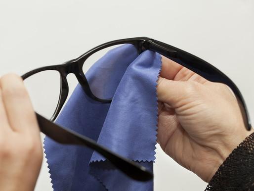 Entretien de vos lunettes