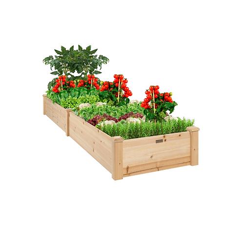 Redwood Planter Box (4' x 6' x 2')