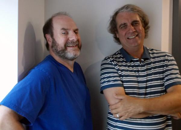 Claude Lafleur et Richard Massicotte