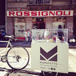 come non fermarsi #bici #biciclette #rossignoli #manufatto #mamufattodesign #manufattobiketour #bre