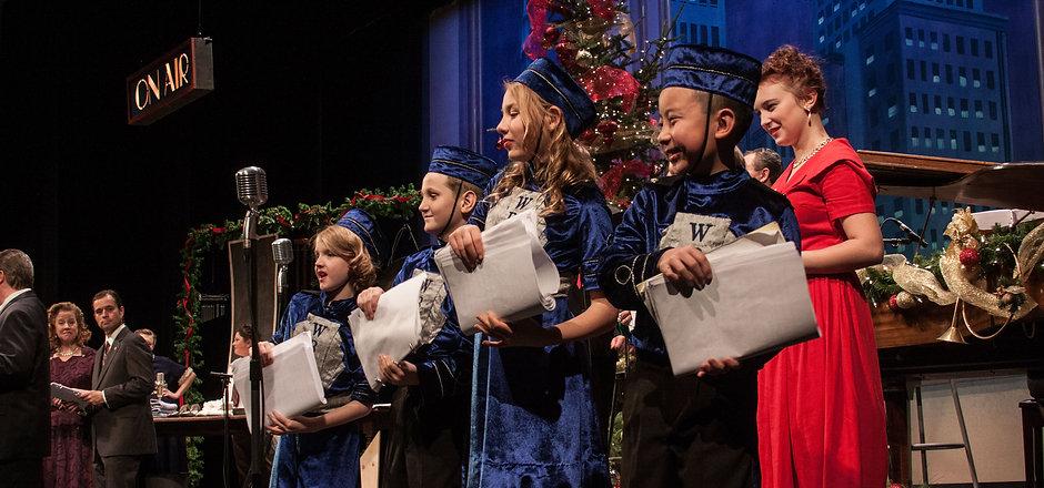 La Crosse Community Theatre Christmas Carol Youth Children