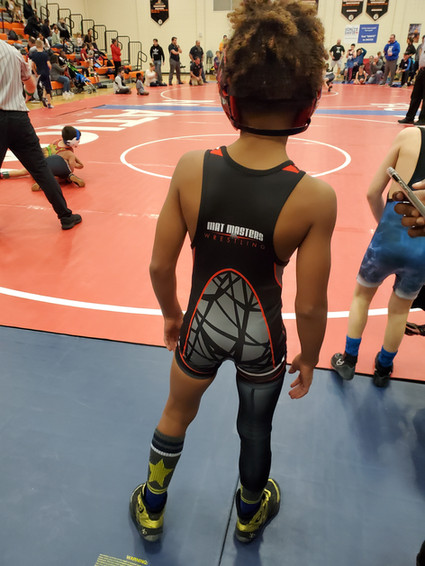 Braylyn preparing to battle