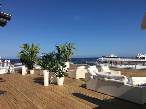 Sea view- Monaco Yacht Club 2018