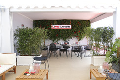 Living Ivy wall- Cannes Lions 2018