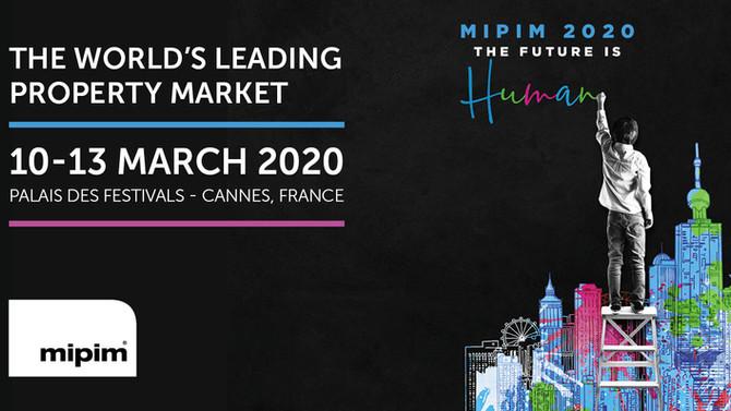 MIPIM 10-13 Mars 2020 (Cannes)