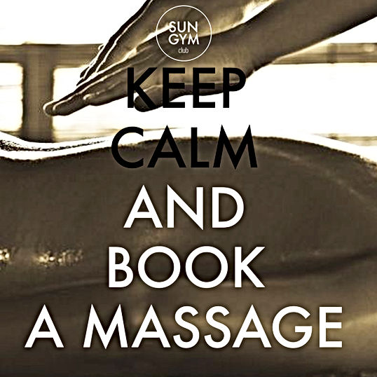 Massage Sungym tous les vendredi