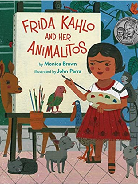 Frida Kahlo and Her Animalitos  – Picture Book,