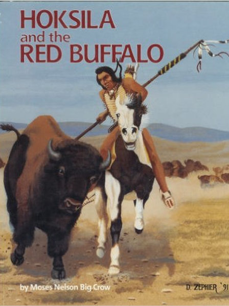 Hoksila and the Red Buffalo