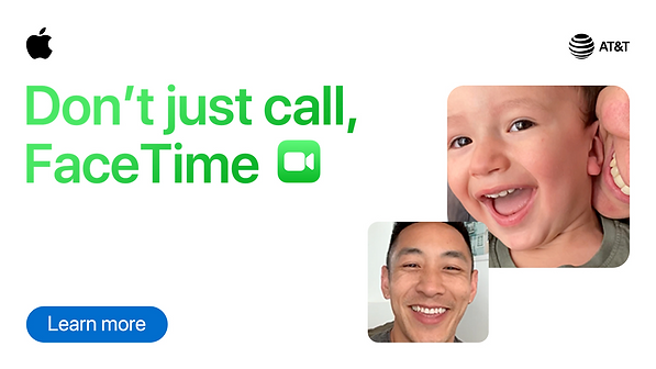 Don't just call, FaceTime