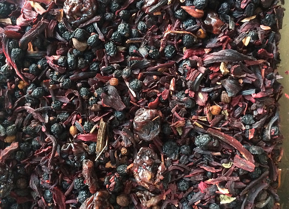 Berry fruit tea