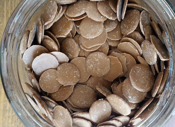 Raw chocolate buttons - vanoffee dark