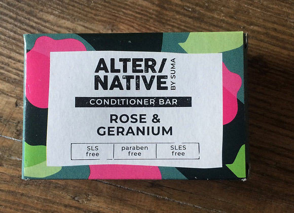 Alter/native conditioner bar (rose and geranium)