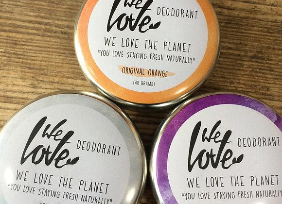 We Love The Planet deodorant tin