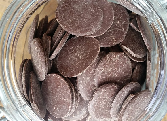 Raw chocolate buttons - pitch (organic)