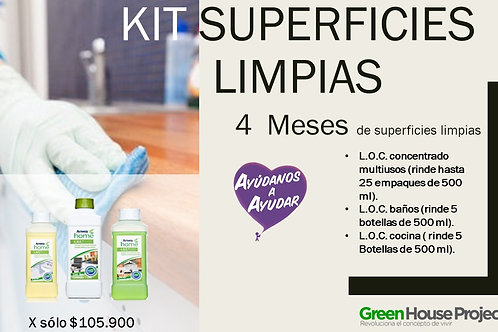 Kit Superficies Limpias
