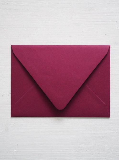 Kirjekuori Burgundy
