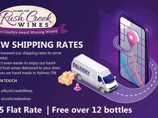 New Lower Shipping Rates!