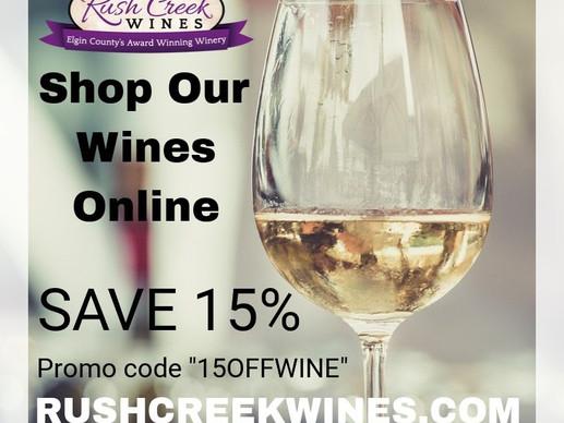 Shop Online & Save ~ 15% Off Fruit Wines