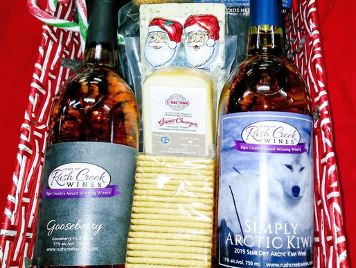 Christmas Gift Baskets are available now!