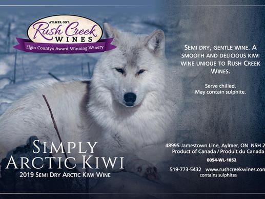 Exciting New Wine Simply Arctic Kiwi