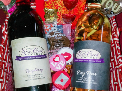 Valentine's Day Gift baskets available now!