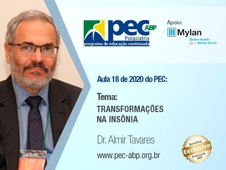 PEC/ABP: Dr. Almir Tavares aborda transformações na insônia