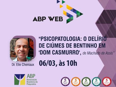 ABP Web aborda obra de Machado de Assis. Participe!
