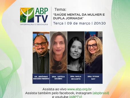 Saúde mental e dupla jornada com os Drs. Jerônimo Mendes, Letícia Mameri, Maila Castro e Vivian Day