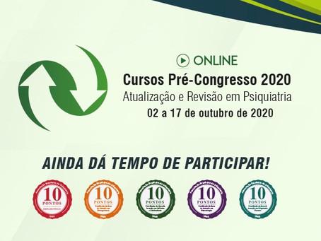 Cursos Pré-congresso: ainda dá tempo de participar!