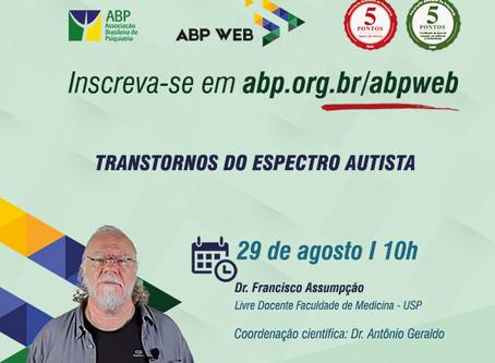 """ABP Web retorna com aula sobre """"Transtornos do espectro autista"""""""