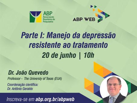 Manejo da depressão resistente é o tema da próxima aula do ABP Web