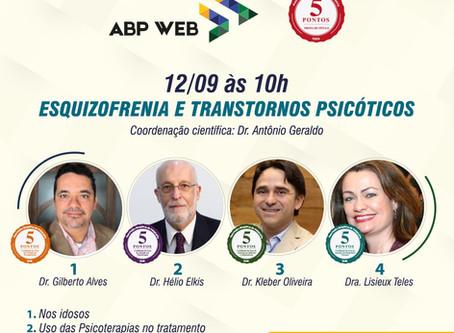 """ABP Web debate """"Esquizofrenia e Transtornos Psicóticos"""", inscreva-se já!"""