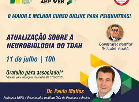ABP Web: inscreva-se para a aula do dia 11/07 com Dr. Paulo Mattos