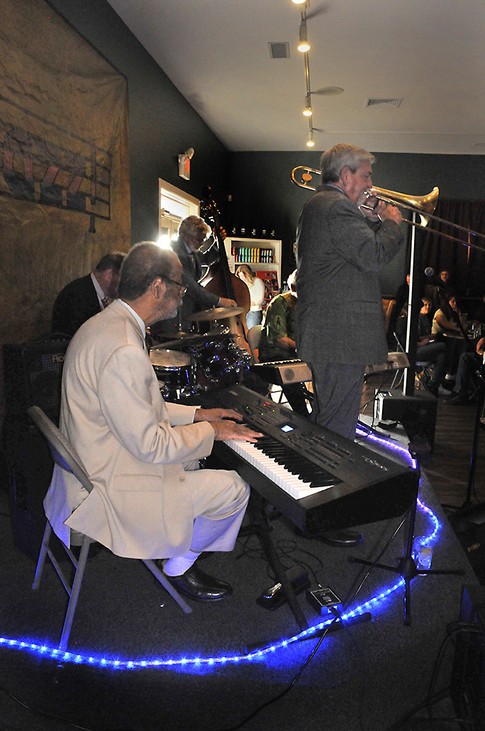 Hal Smith, Roger Dickerson, RIchard Simon, Russ Phillips